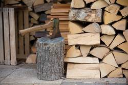 Brennholzvorrat
