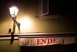 das Licht am Ende ....