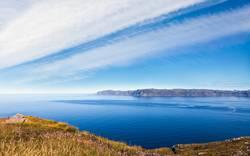 Blick auf das norwegische Westkap