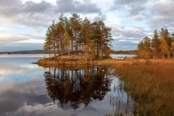 Seelandschaft in Schweden