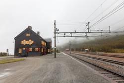 Bahnhof auf dem Dovrefjell