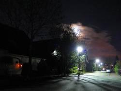 erleuchtete nacht