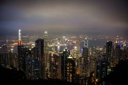 HK night lights
