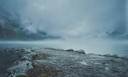 Norwegen Fjord Wolken