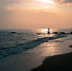 Abendstimmung am Meer ...
