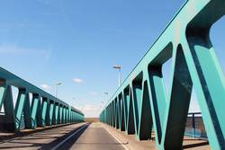 Peenebrücke bei Anklam |on the road again