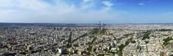 Blick über Paris vom Tour Montparnasse
