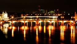 Die Mittlere Brücke...