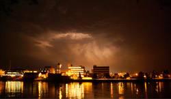 Donnerwetter über Basel
