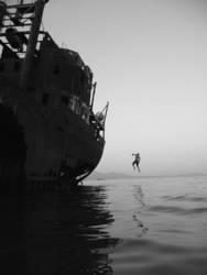 greek boat jump #1