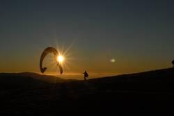 Paraglider am Schauinsland