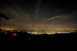Schauinsland bei Nacht