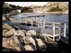 Badeplatz auf Brännö