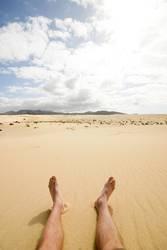 Barfuß in der Wüste
