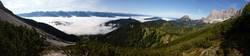 Panorama mit Dachstein