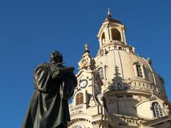 luther und frauenkirche