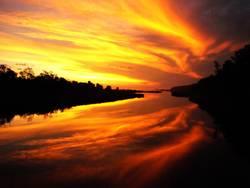 Sonnenuntergang vom Allerfeinsten