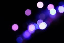 Sehschwäche in violett