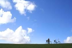 Himmlischer Radweg