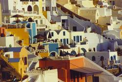 Häuser Santorini