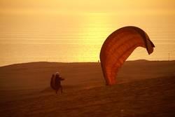 Paraglider - Fertig zum Starten