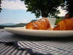 Frühstück am Gardasee