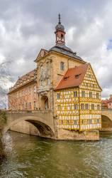 Bamberg at river Regnitz