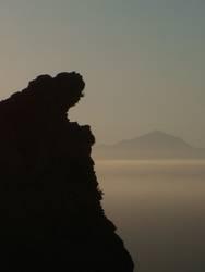 Gran Canaria mit Blick auf Teneriffa