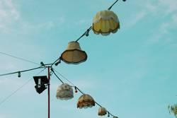 Lampenschirmparade