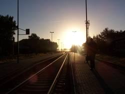 Weg zur Arbeit