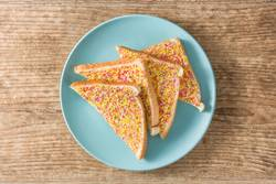 Traditional Australian fairy bread