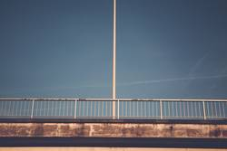 Lantern on bridge