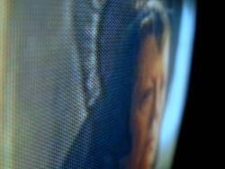 Frau im TV