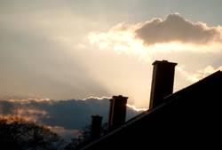 Sonnenuntergang in Langebrück