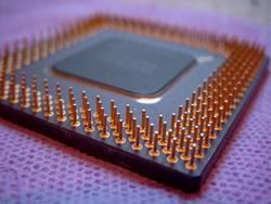 Alte CPU auf Klopapier ;-)