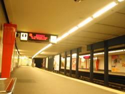 Hamburger Ubahn Messberg 3