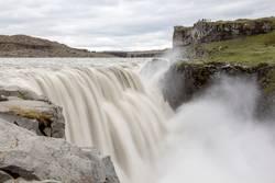 Waterfall in Island