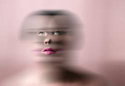 beauty in pink tones , defocused