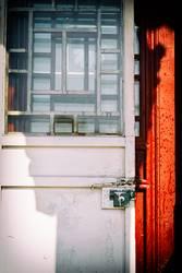 white door, asian style - china