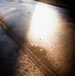 asphaltierter Sonnenschein