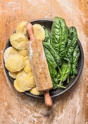 Ravioli mit Spinat selber machen