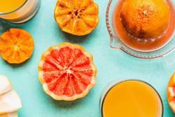 Frisch gepressten Orangensaft
