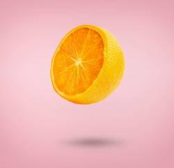 Fliegende Orange