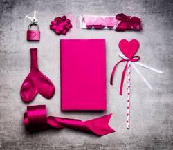Pink Valentinstag Dekoration
