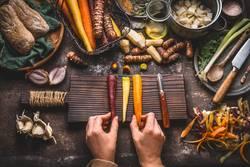 Wurzelgemüse kochen