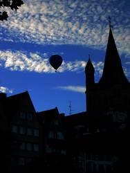 Heisse Luft über Köln II