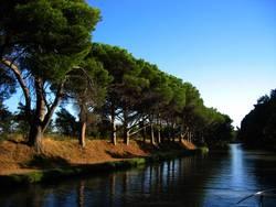 Ruhe auf dem Kanal