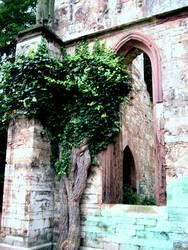 Bunte Ruine