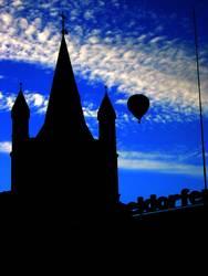 Heisse Luft über Köln I