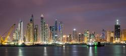 Building Site in front of Dubai Marina